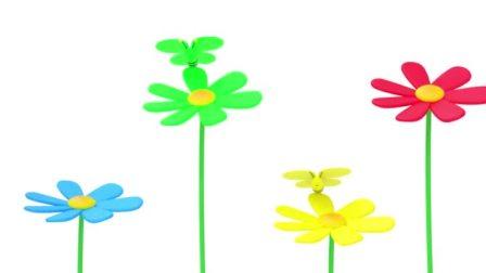金色时光:彩色的小蝴蝶,认识颜色,幼儿启蒙