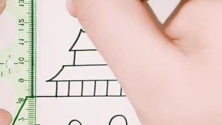 金色时光:国庆节简笔画来啦,你学会了吗