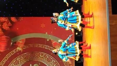 吉木萨尔县庭州男子汉舞蹈团参加首届昌吉州网络春晚录制