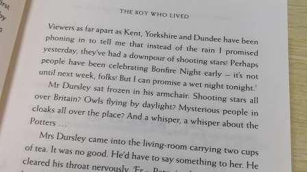 《哈利波特与魔法石》第一章4-9页解析3