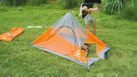 户外帐篷产品安装操作视频----腾大影视