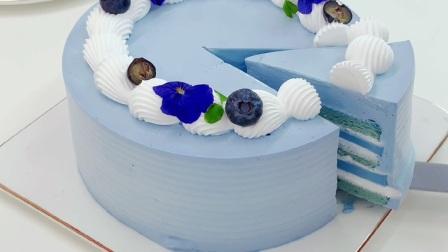 在重庆哪里可以学蛋糕烘焙?西点蛋糕烘焙学习视频,这美美的蛋糕也太甜了点吧,口水流一地