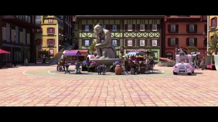动画电影《恐龙飞车》极速版预告