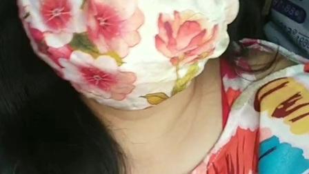 可爱多 戴口罩 制作与画面:壹片雪花