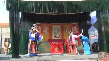 河南省沁阳市怀府豫剧团送戏下乡演出二十四孝之一弃官寻母