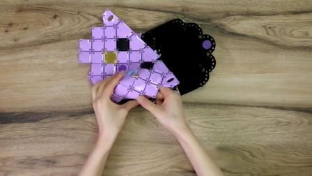 6岁女孩生日礼物推荐丨手工拼包包