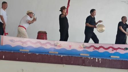 瓯海区参龙文化研究会舞台模拟划龙舟排练下集