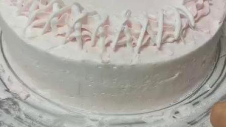 奶油裱花蛋糕示例