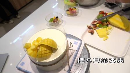 收获食光蛋糕制作流程