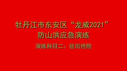 """牡丹江市东安区""""龙威2021""""防讯综合演练专题片"""