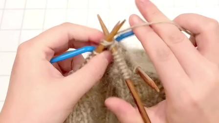 雅馨绣坊手工编织帽子视频:花生帽4图解视频