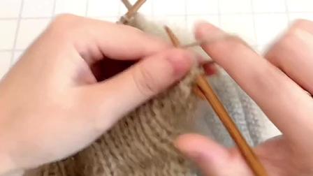 雅馨绣坊手工编织帽子视频:螺旋贝雷帽5图解视频