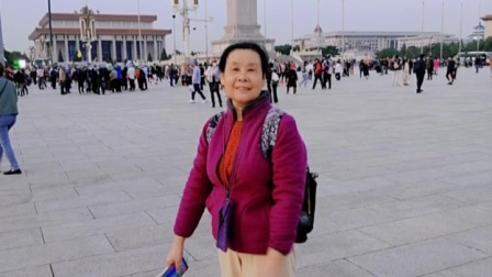 我在北京天安门广场