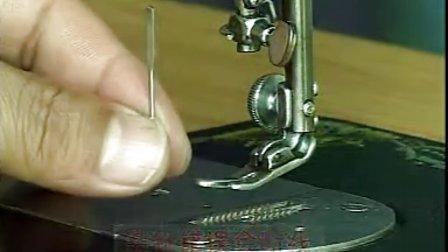 服装设计教程 服装打版视频教程 自学服装设计教程 缝纫机的保养和故障排除