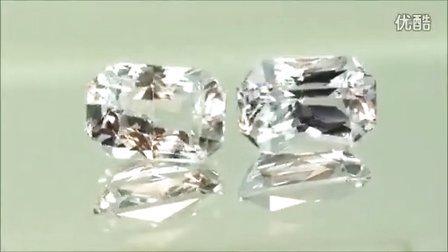 天然白色藍寶石- 10克拉,AIGS證書認證