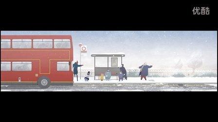 """【一起动画吧】来自""""蓝色动物园""""的圣诞祝福"""
