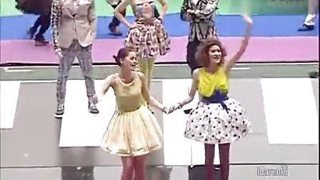 20130406 3台足球赛Yaya Margie Matt等日月星三部曲主演出场片段