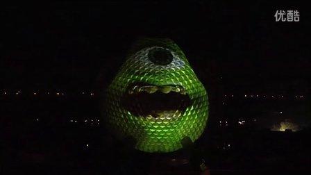 《怪兽大学》大眼仔现身迪士尼乐园 开启暑期狂欢季