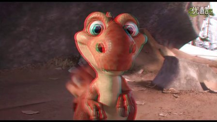 (预告片)冰河世纪3 3D版  红蓝3D电影