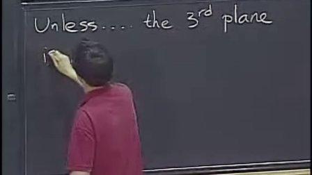 [多变量微积分:二次矩阵;平面方程].Lecture.04