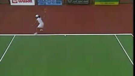 CCTV5教程 穿越球及步法