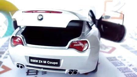 [汽车模型]宝马 Z4 M coupe 1:18 银色