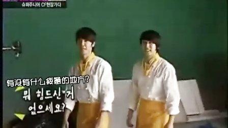 SJ[PARTNERS]100515_KBS_SJ炸鸡CF拍摄花絮