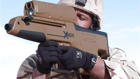 美国陆军新型XM-25榴弹枪