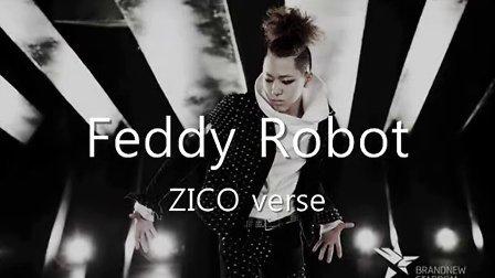 Block B组合队长Zico禹智浩with朴经各种Rap,feat,sing集合