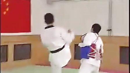 【侯韧杰  TKD  教学篇】之 二级段冠军技术