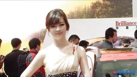 2011上海车展 中华骏捷可爱美女