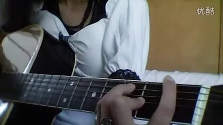 YUI cover Simply white guitar