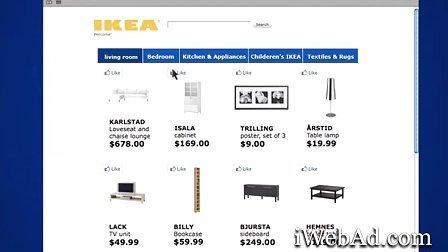 【营销案例】IKEA社交行销案例《最受欢迎的房间布局》