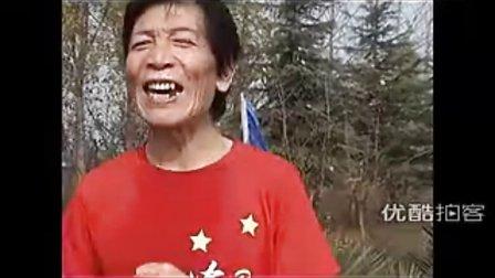 【拍客】北京3员老将包揽25公里长城徒步大赛前三名