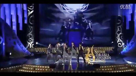 【雅晶】东方神起 2008年SBS颁奖典礼《Mirotic咒文》超清现场