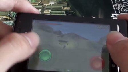 索爱x8手游3D TANK RECOM测评
