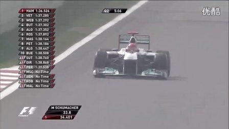 【F1GP 2011】第16戦 韓国グランプリ 公式予選