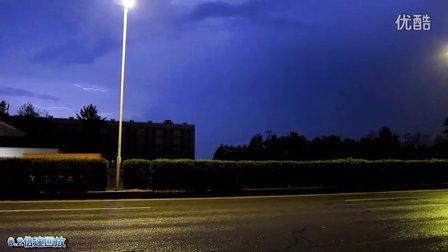 【拍客】实拍8月1日武汉2小时闪电3258次