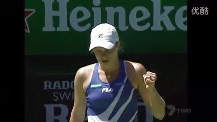 2004澳大利亚网球公开赛女单决赛 海宁VS克里斯特尔斯 (自制HL)