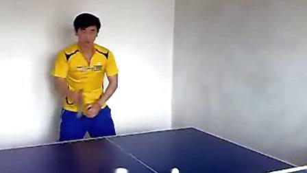 乒乓球直板正手基本功训练