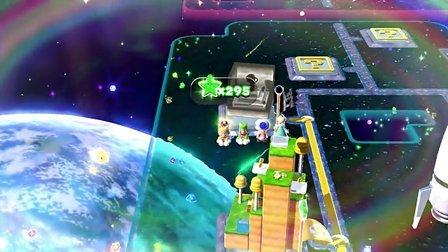 超级马里奥3D世界4人欢乐流程W10 Mushroom(全绿星全贴纸无字幕)