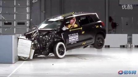 专业评测 丰田Scion XD正面碰撞试验