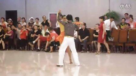 刘振河,刘红娟,老师,吉特巴,表演,北京IFDA,紫茵艺术团授牌仪式,华夏体育舞蹈俱乐部
