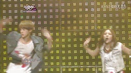 【X】[超清现场]120817 宝儿BoA EXO世勋 - Only One 音乐银行