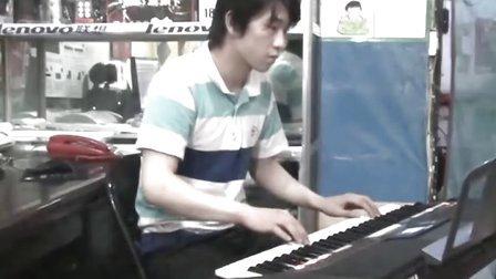 在心里从此永远有个你 电子琴演奏
