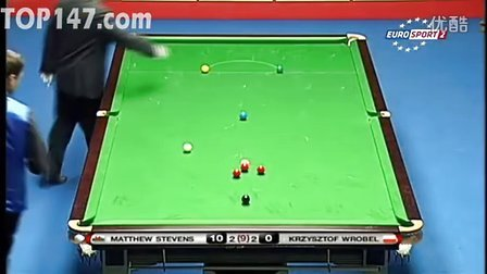 小组赛 史蒂文斯(62) vs Krzysztof Wrobel 第5局