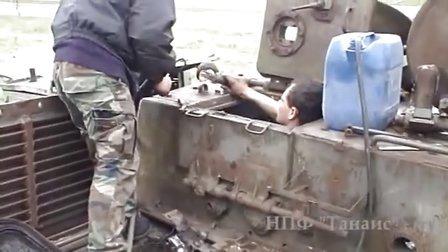 战后废弃ISU-152还能跑