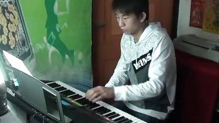 """<阿荣>电子琴演奏 女儿情""""西游记插曲"""" 心乐琴韵"""