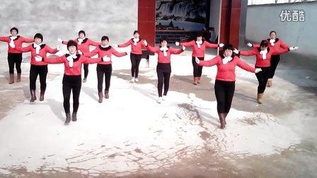 临邑镇孙王庄广场舞美丽的七仙女