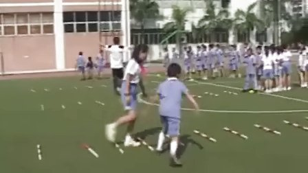 小学五年级体育优质课视频《快速跑》柏平小学体育优质课视频